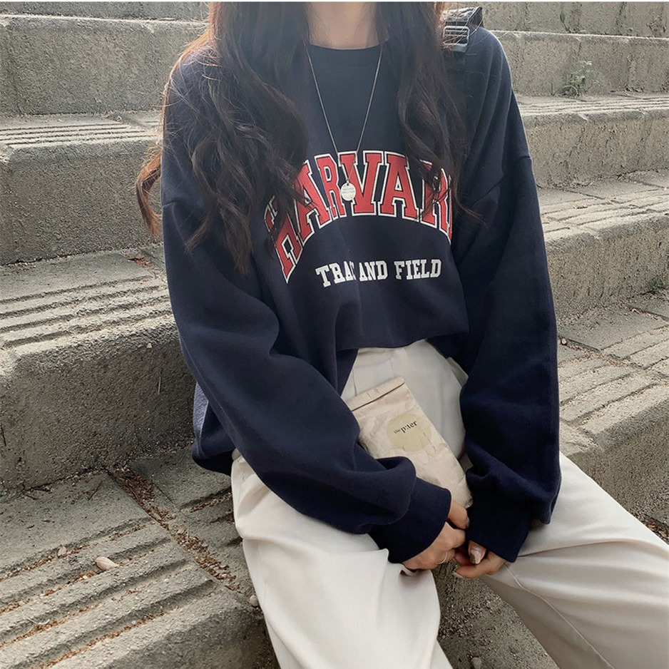 Harvard University Sweatshirt - USA College Classic Crewneck - The Heritage Collection