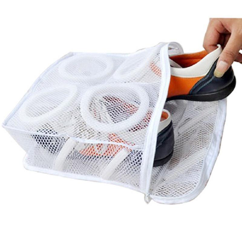 Mesh Shoe Laundry Washing Bag