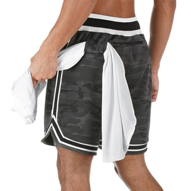 Mens Aesthetic Gym Shorts