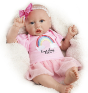 22 inches Pink Holland Realistic Reborn Baby Doll Girl