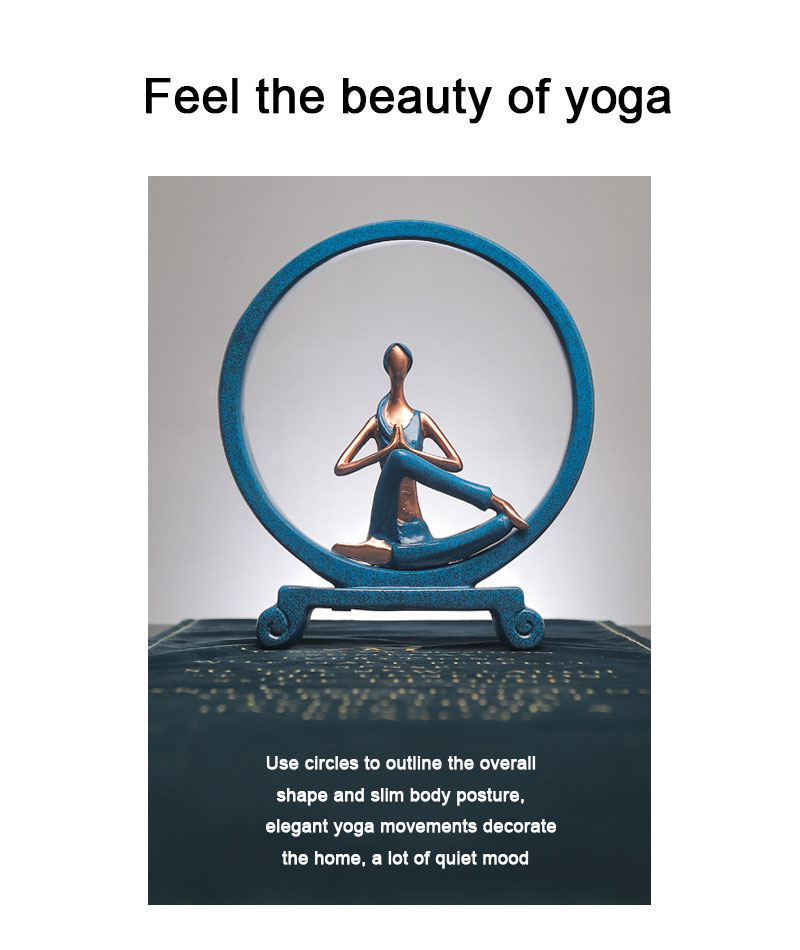 Yoga Figure Ornaments 7