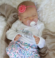 17 inches Real Lifelike Journey Reborn Baby Doll Girl