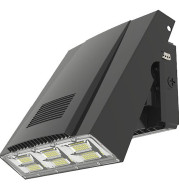 LED ADJUSTABLE WALL PACK 75W, 100W,5000K, 9000LM,12000LM, 120 DEGREES BEAM ANGLE, AC120-277V, IP65, CRI75, ETL & DLC LISTED
