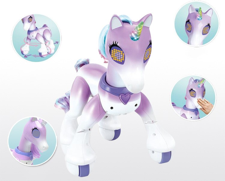 Smart Unicorn Horse with Remote Control (6-15 years old)