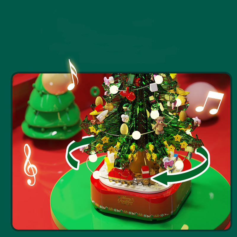 Christmas Tree - Building Blocks 4
