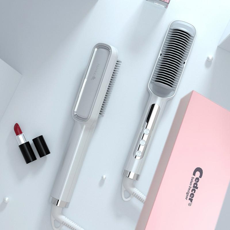 Brilliant Shine Anti-scalding Electric Smart Ceramic Hair Straightener