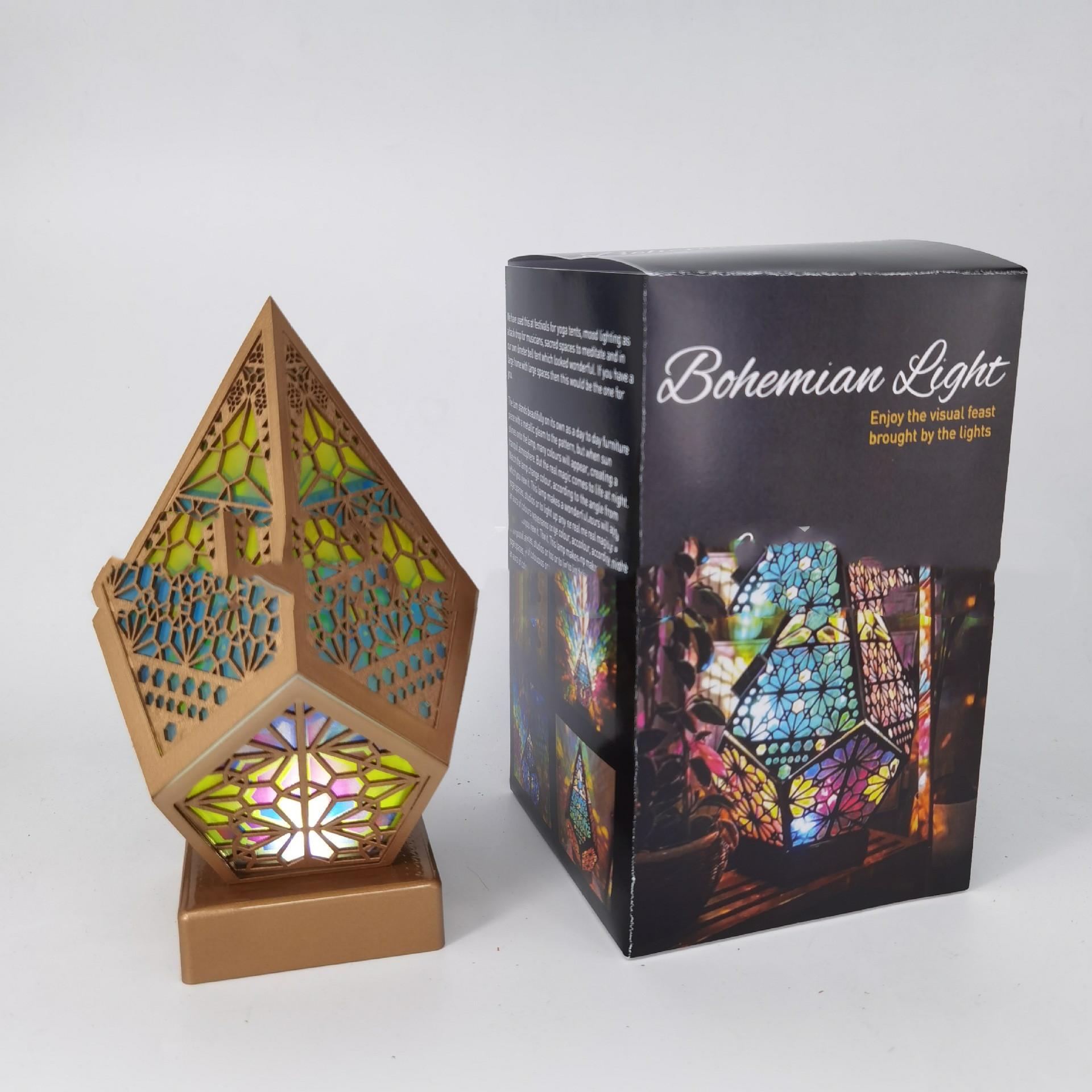 Bohemian Style Projector Lamp 10