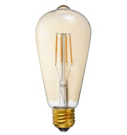 FILAMENT BULB ST19 5W 400LM 2200K E26 DIMMABLE 110-130V 4F UL QUALIFIED