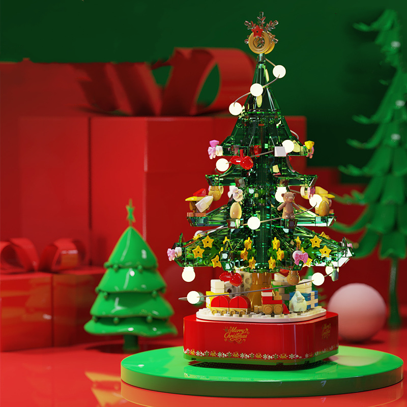 Christmas Tree - Building Blocks 5