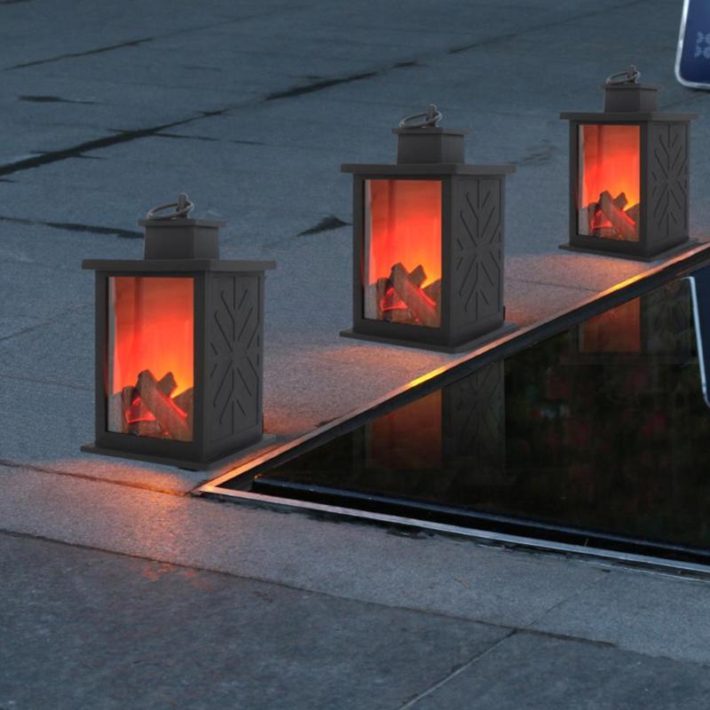 Simulated Fireplace