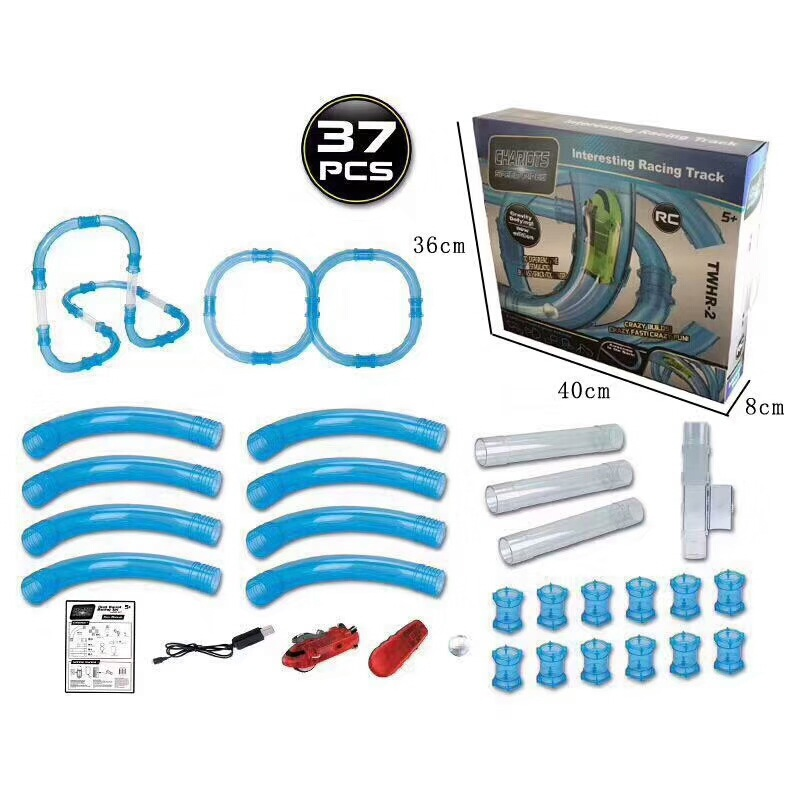 Speed Pipes Electric Car Racing Track 9