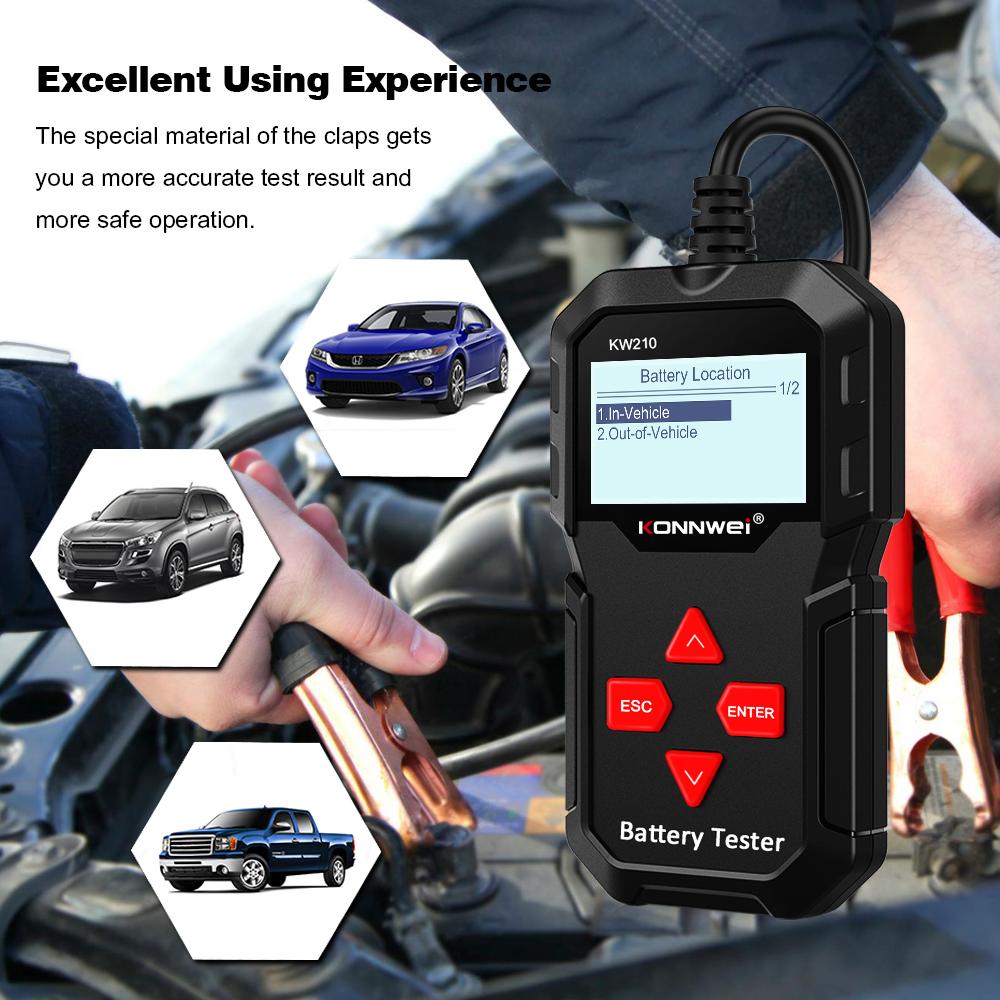 Konnwei KW210 Car-Battery Tester