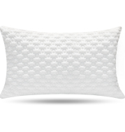 Shredded Memory Foam Pillow Bed Pillows Pillow for Sleeping  Support Side Back Stomach Sleepers