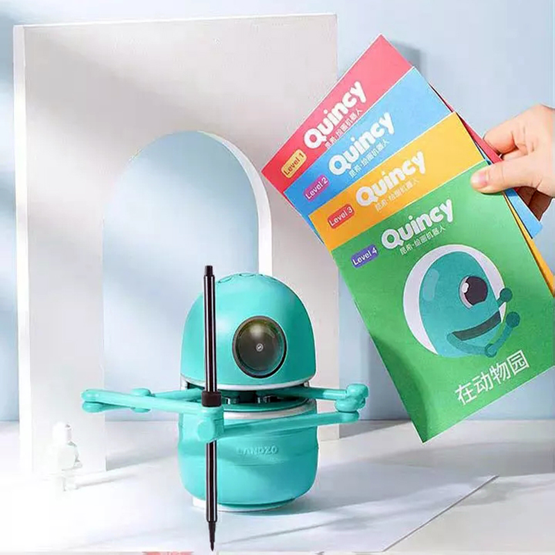 Flash Card Drawing Robot For Kids 4