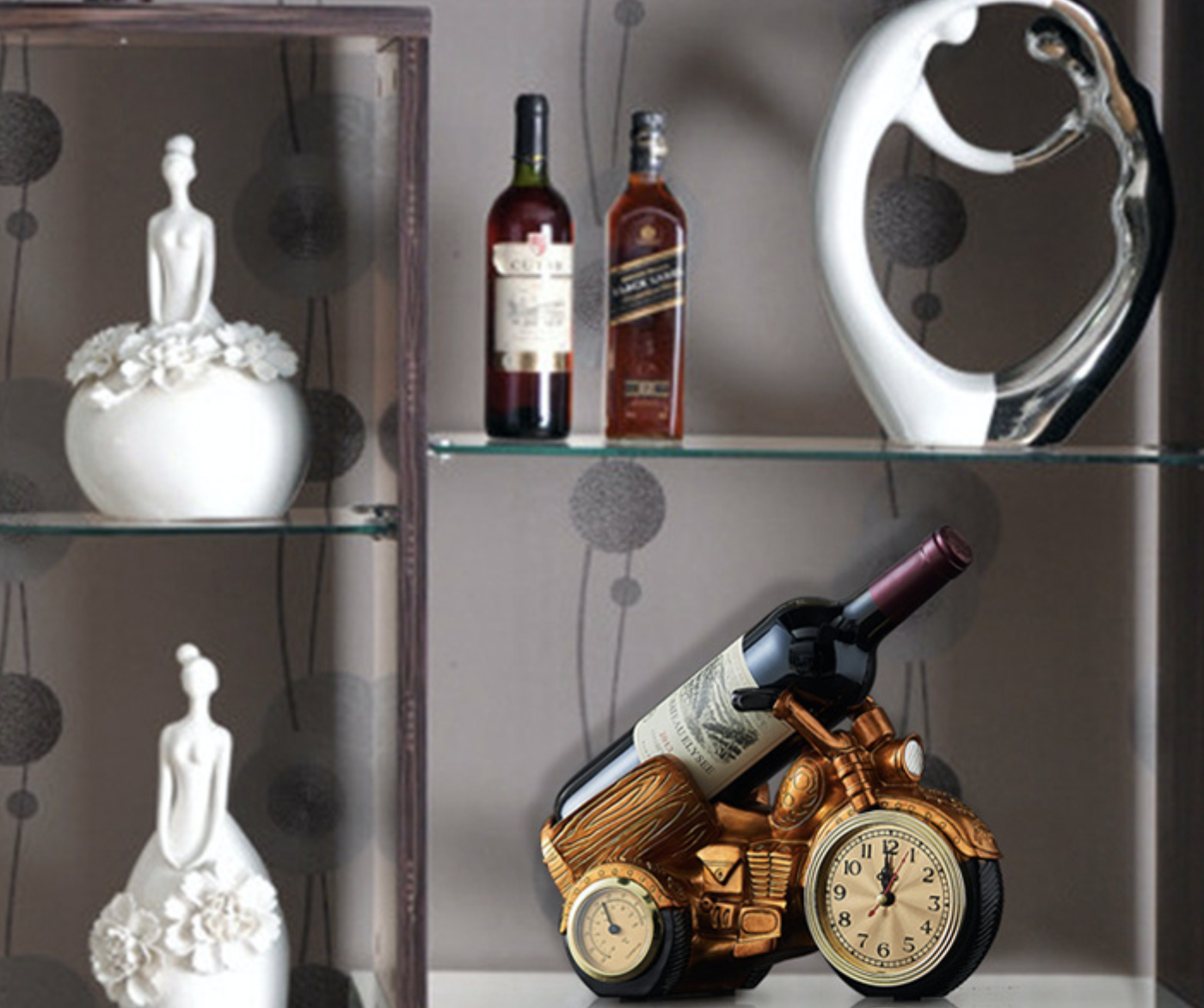 Wine-Racks Brewing-Equipment-Stand Whisky-Shelf Stones