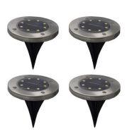 4PCS LAMPU TAMAN LAMPU OUTDOOR SOLAR LAMP 8 LED