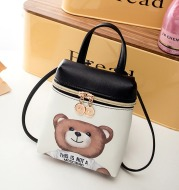Cute Cartoon Women Messenger Bags High Quality Cross Body Bag PU Leather Mini Bear Shoulder Bag Handbags Bolsas Feminina