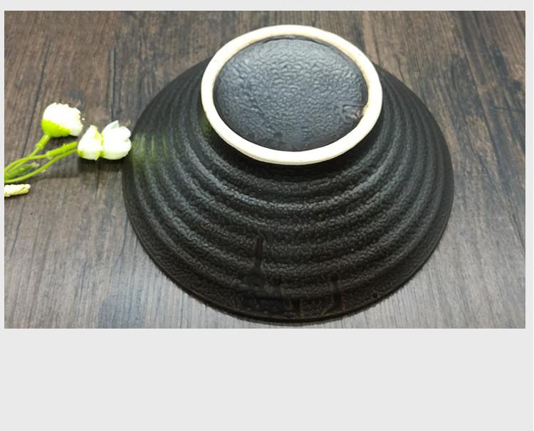 Foto base cuenco cerámica japonesa para ramen.