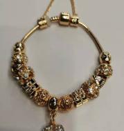 Charm beads bracelet