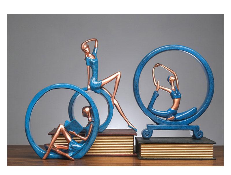Yoga Figure Ornaments 12