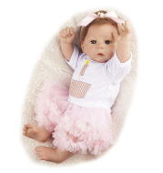 Lifelike 21 inches Kaliyah New Silicone Reborn Baby Doll