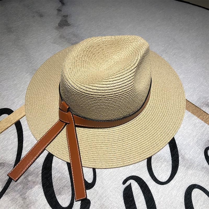 Chapeau d'été femme en paille 2