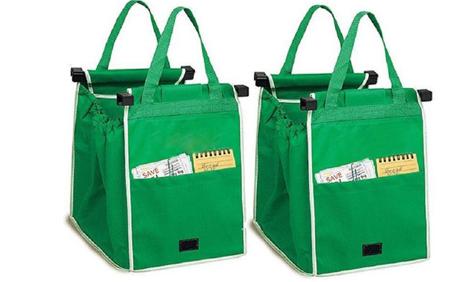 Eco-Friendly Foldable Reusable Shop Handbag allinonehere.com