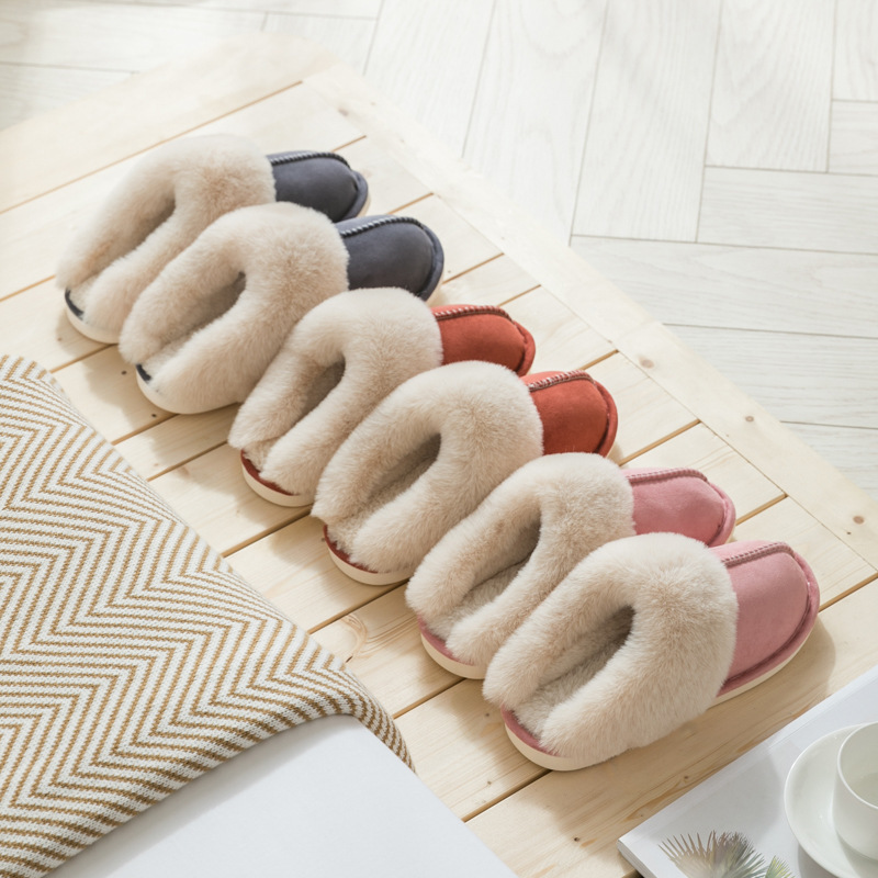 Suede Cotton Slippers for kids