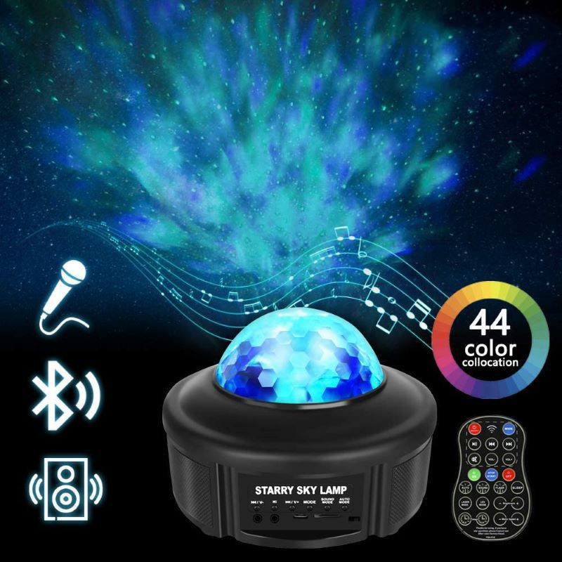 Bluetooth Music Starry-Sky Projector support TF Card