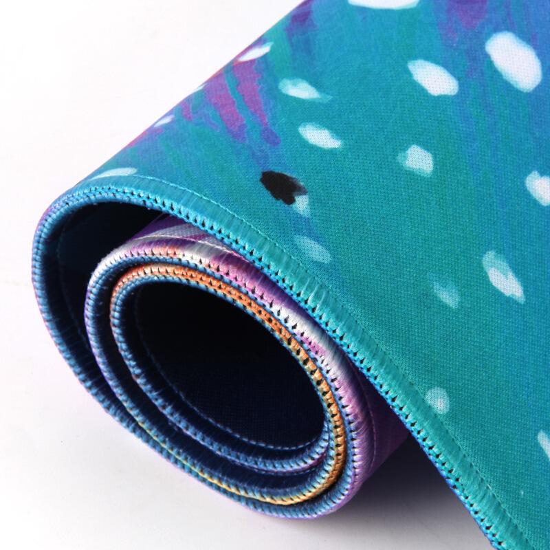 tapis de souris xxl double face couleurs vives