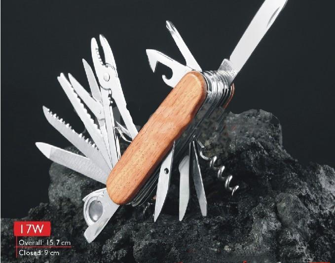 Allen's Swiss Army Style Pocketknife Wood