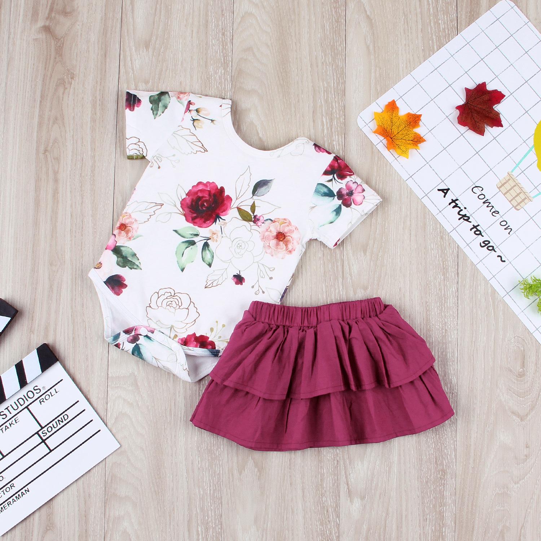 Flying-sleep-girl-onesie-romper-skirt-set-outfit-rose-red-wine