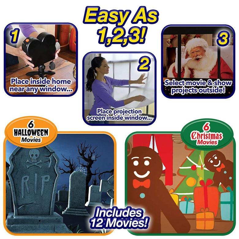 6279bf65 519a 4efa b1a3 8e982b67573e - Halloween Party Projector Lamp