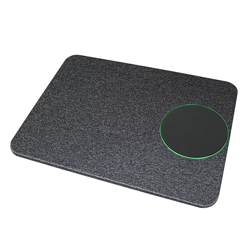 tapis de souris induction sans fil rechrageable
