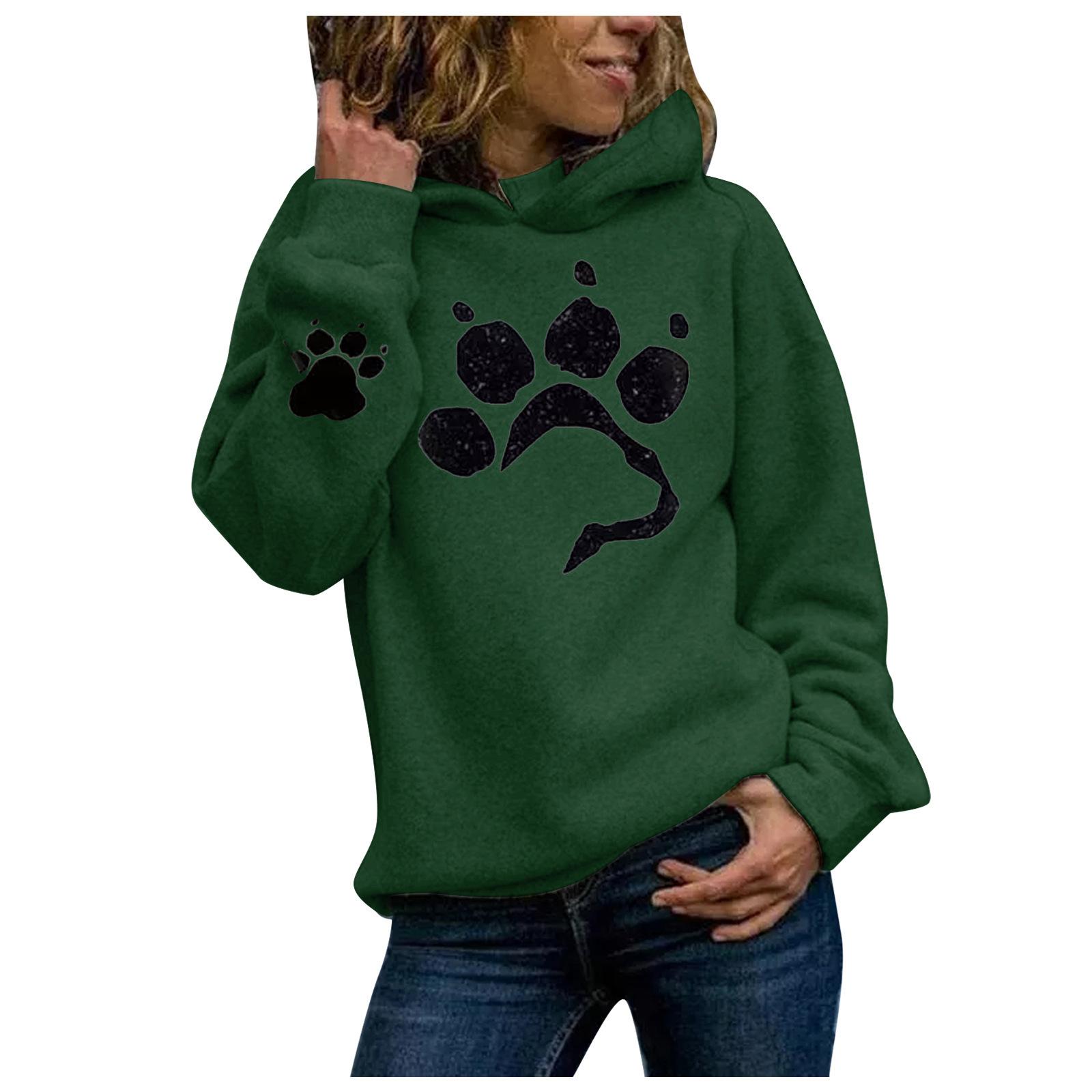 Sweatshirt, Hoodie mit Pfote | sportshop3000