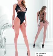 Women Fishnet Bodystockings,Sexy Lingerie Babydoll Bodysuit Nightwear
