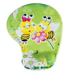 Tapis souris ergonomique abeille