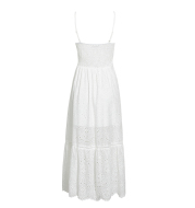 Breathable Dress With Suspenders