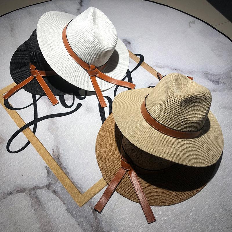 Chapeau d'été femme en paille 1