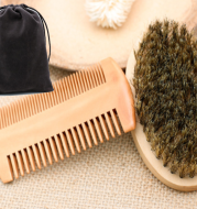 Beard comb beard brush double-sided styling comb