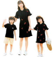Casual Family Wear Mother And Daughter Skirt Family Wear