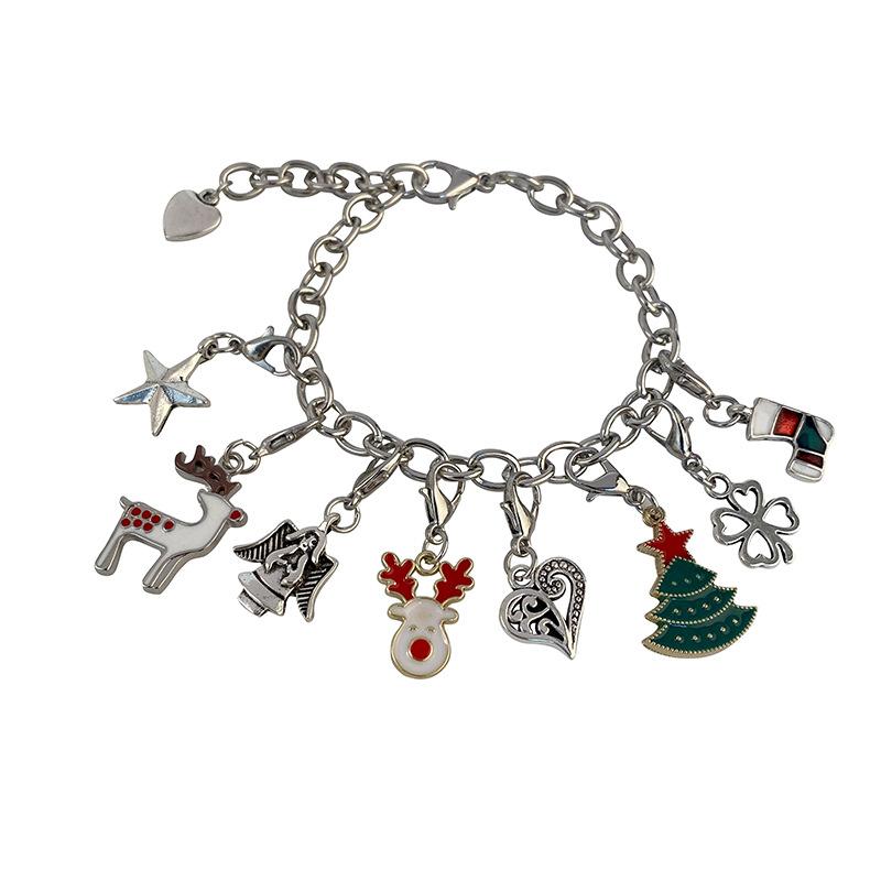 Christmas Themed Charm Bracelet Kit 7