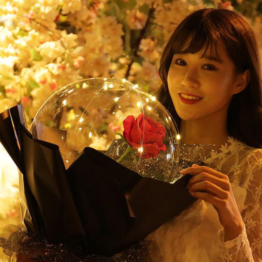 balloon rose bouquet