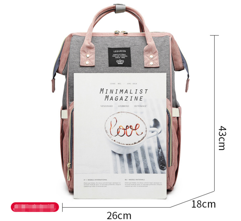 Fashion Mummy Maternity Nappy Bag allinonehere.com