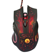LED Wired Gaming Mouse USB Computer Mouse 5500DPI Optical Mouse 6 Buttons