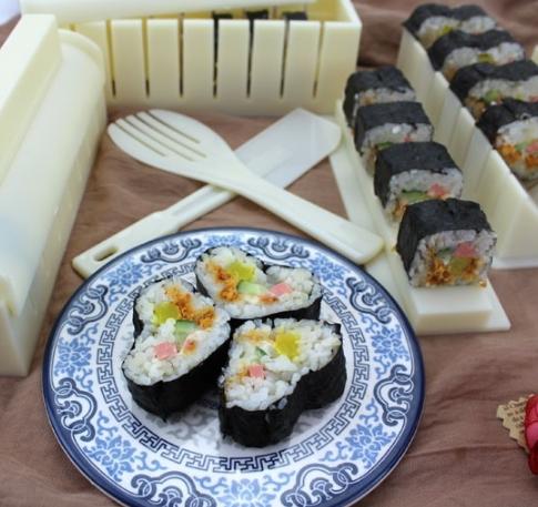 Set De Moldes Para Sushi 🍣🤤- Dileblue