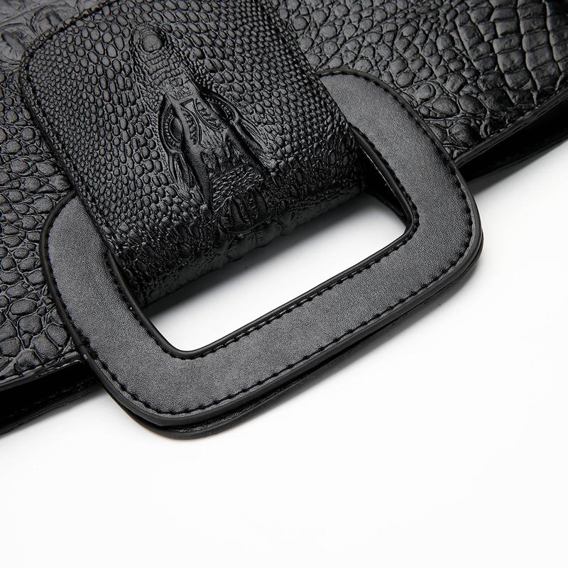 Crocodile Faux Leather Handbag 24