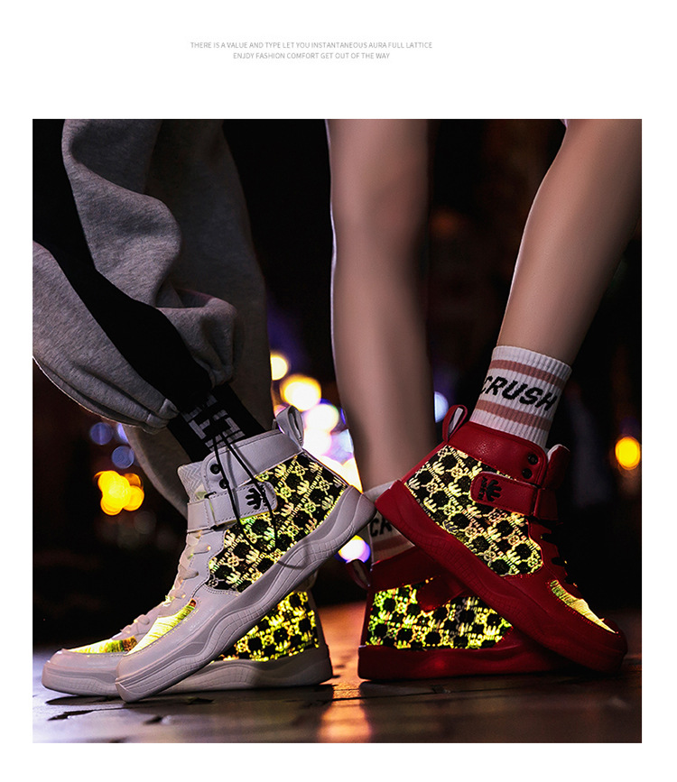 Fashion Fiber, LED Sneaker | sportshop3000