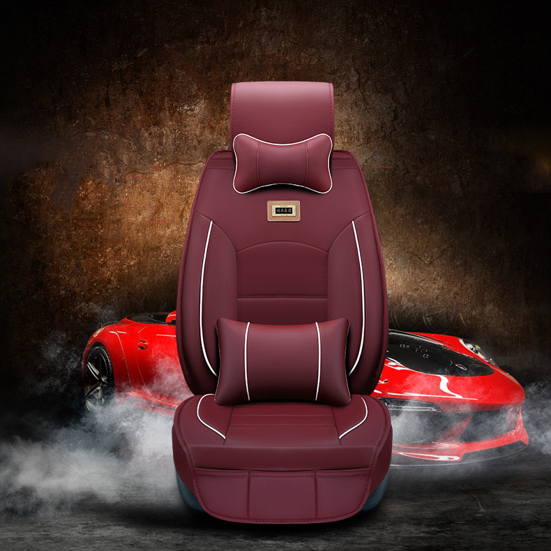 leather Car seat cushion cover