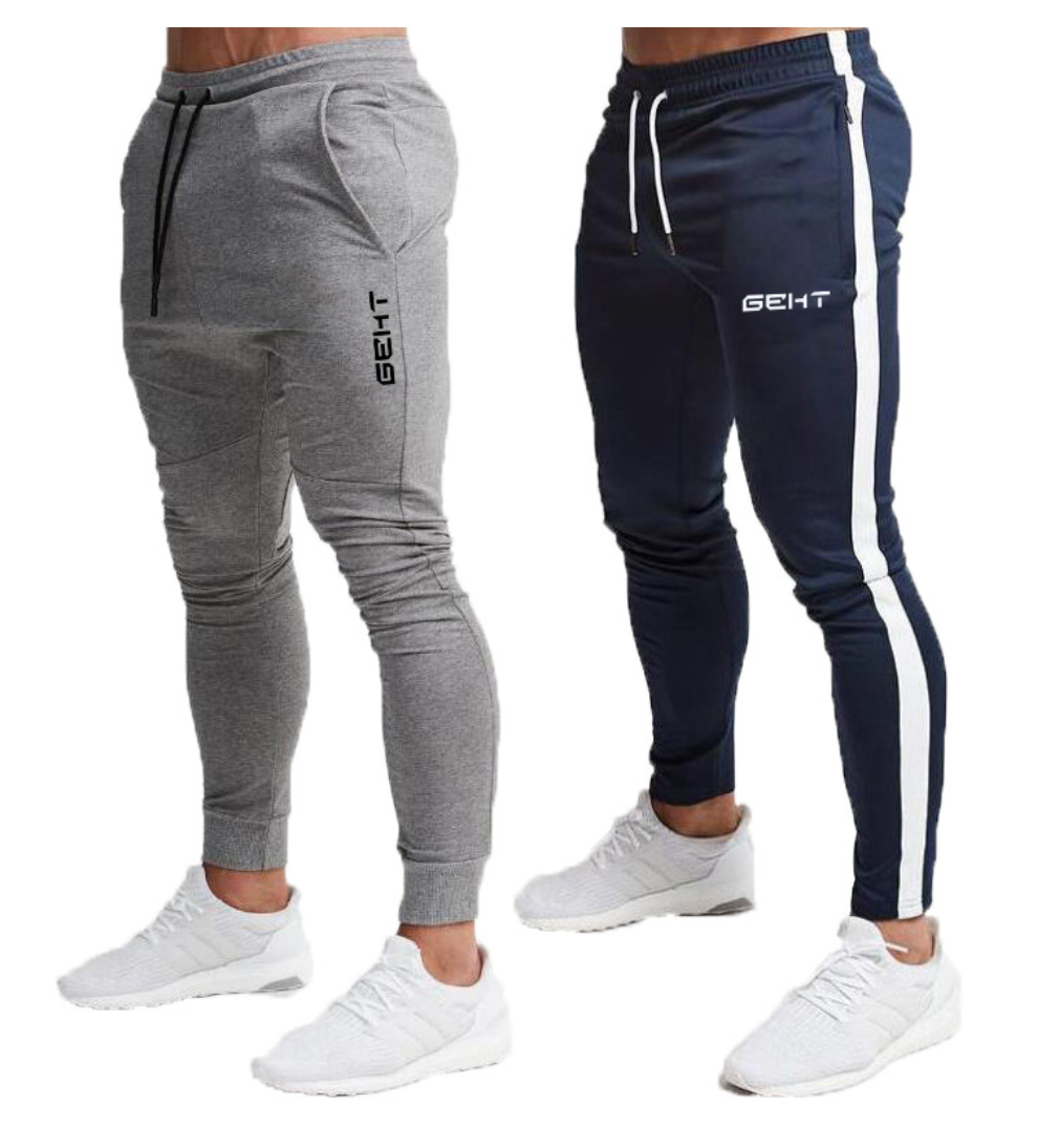 New Cotton Casual Gyms Pants for Man